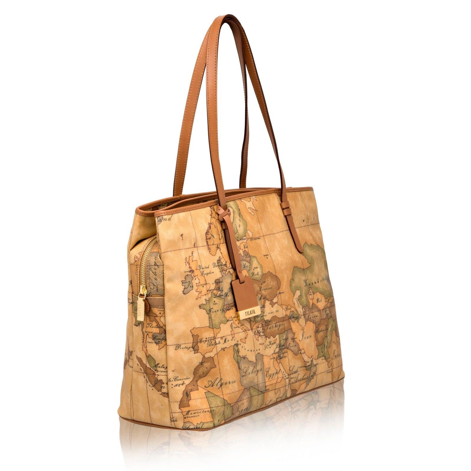 BORSA ALVIERO MARTINI GEO CLASSIC SHOPPING BAG NEW CLASSIC CD0246000 NATURAL