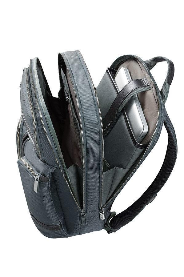 ZAINO SAMSONITE GT SUPREME LAPTOP BACKPACK 15.6''16D*007 GRIGIO/NERO