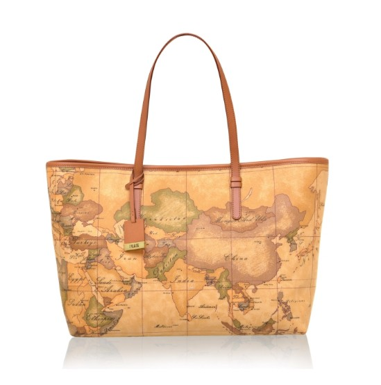 BORSA ALVIERO MARTINI GEO CLASSIC MAXI SHOPPING CD0706000 NATURAL
