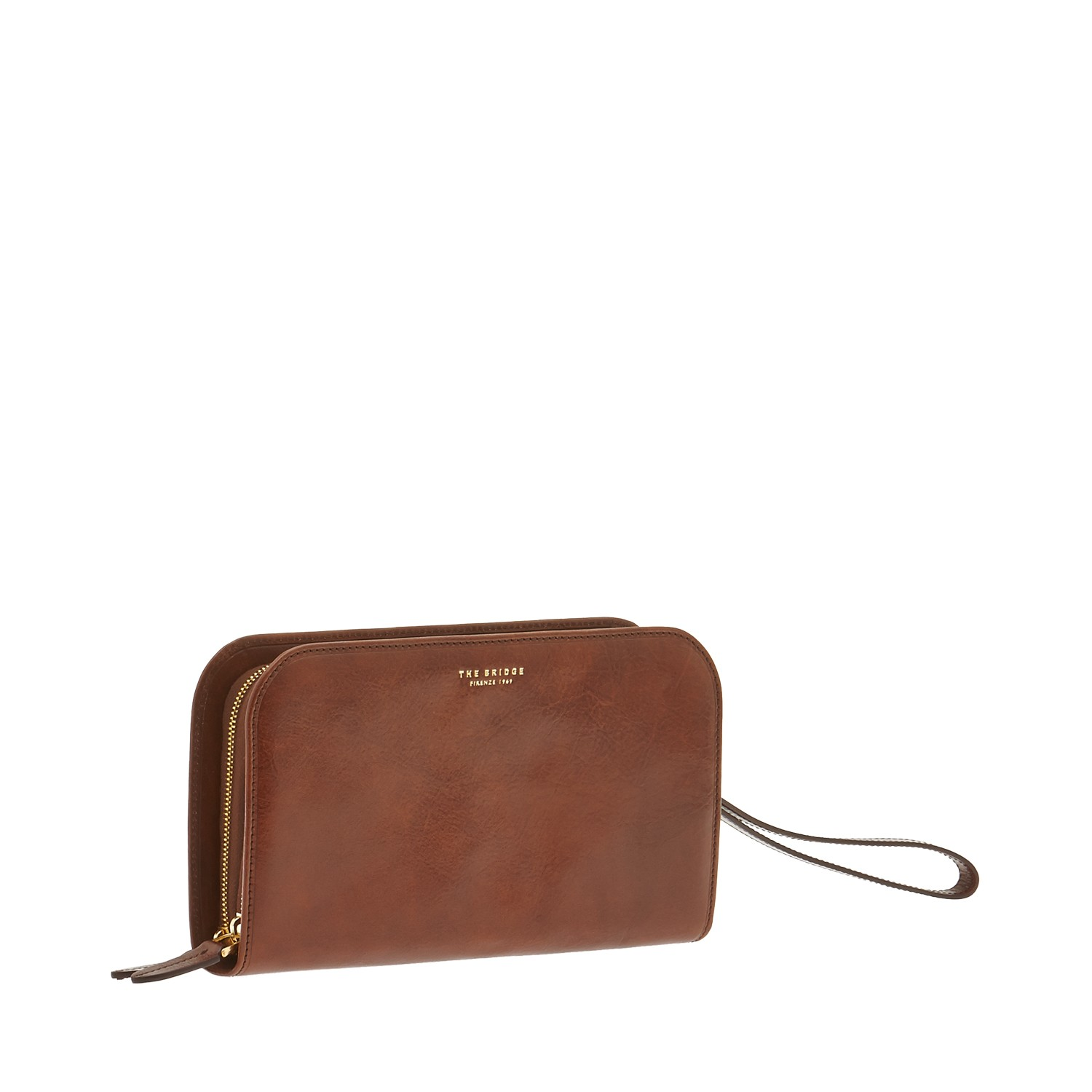 BORSELLO THE BRIDGE POCHETTE UOMO 0521341O 14 MARRONE – Buonocore Borse 9ea30405c54
