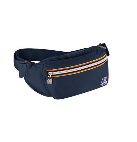MARSUPIO K-WAY K-POCKET BUMBAG 6AKK1336 NAVY