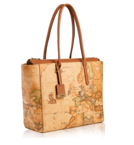 BORSA ALVIERO MARTINI GEO CLASSIC SHOPPING LARGE CD0856000 NATURAL