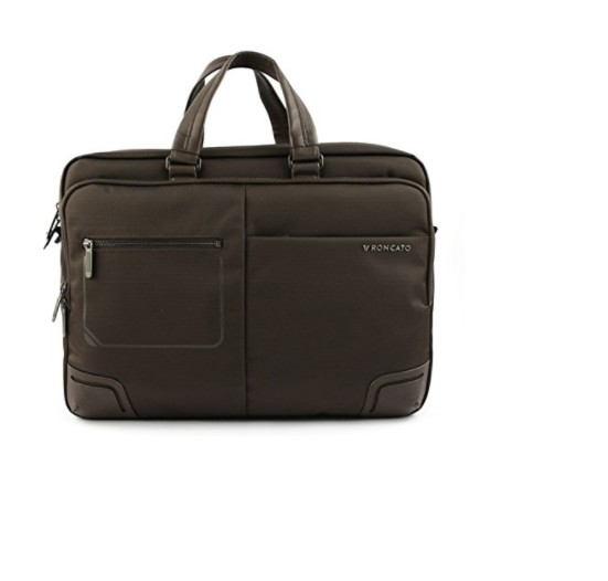 CARTELLA RONCATO WALL STREET BRIEFCASE TWO WRIS 15.6'' 412152 TM