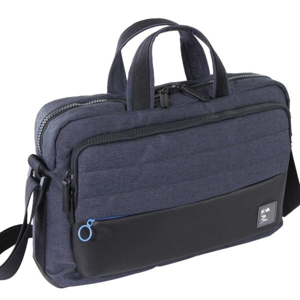 CARTELLA NAVA PASSENGER BRIEFCASE TECH PS081 BLUE/L.BLUE