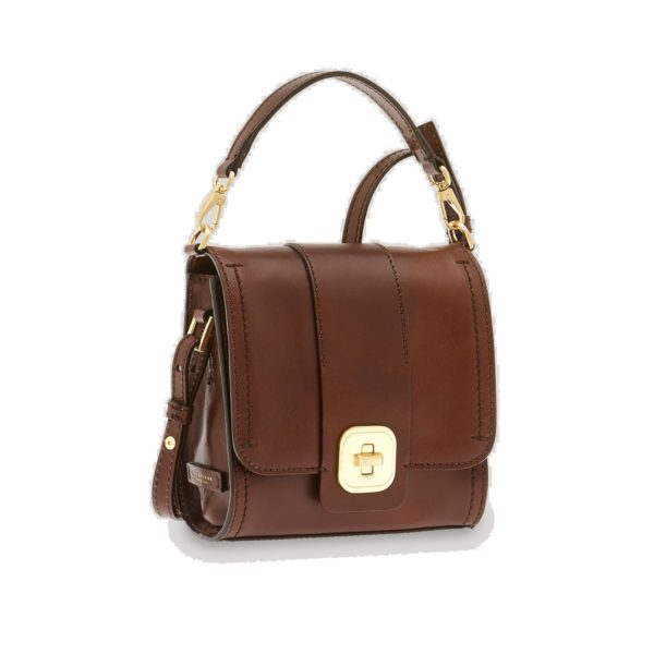 BORSA THE BRIDGE BELLEVILLE CROSS BODY 0432173Y 14 MARRONE