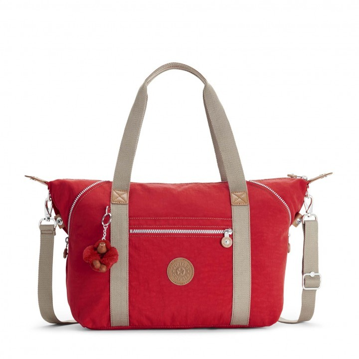 BORSA KIPLING BASIC EWO ART TRAVEL BAG TRUE RED C