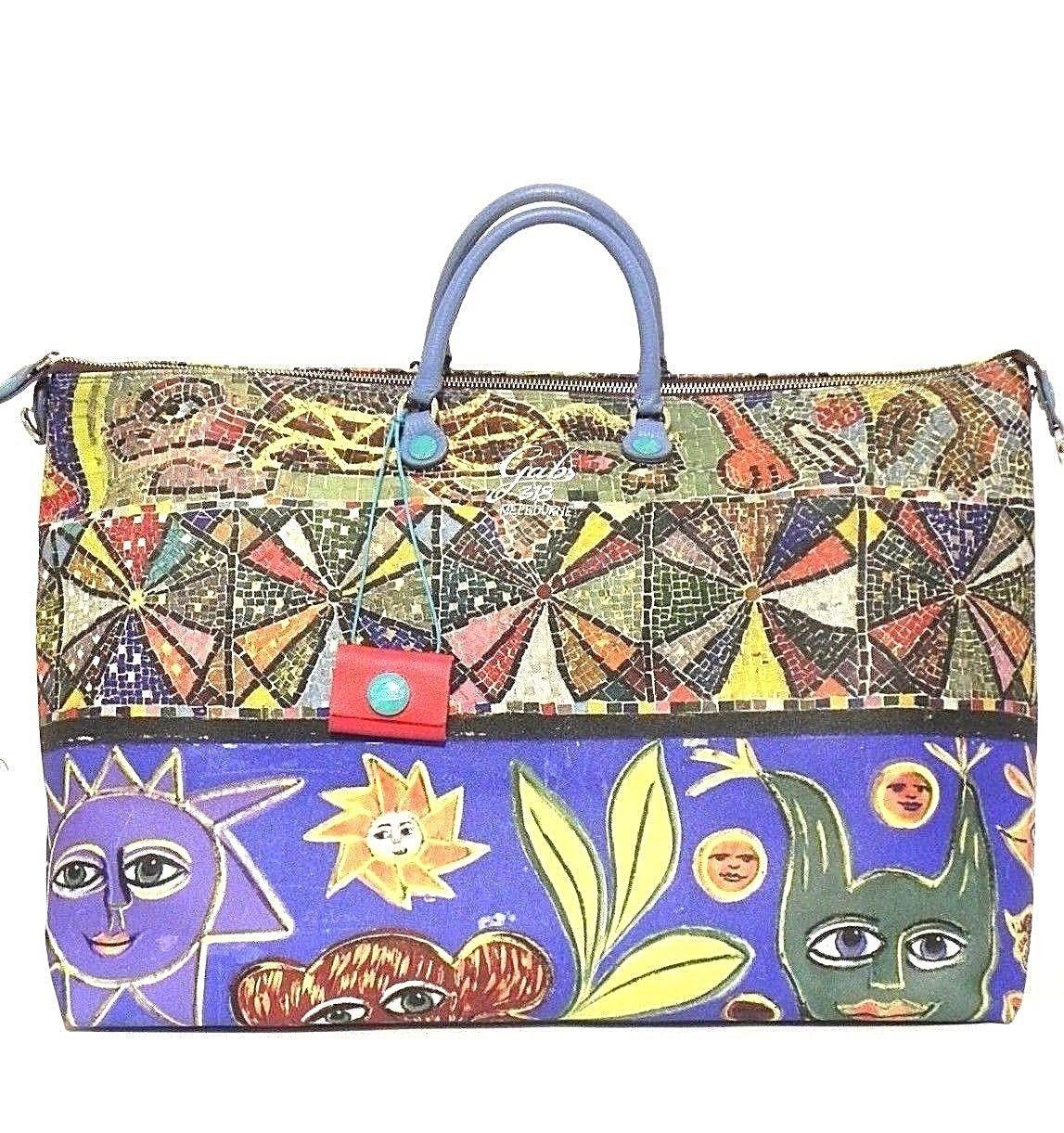 BORSA GABS KATIA SHOPPING STUDIO WEEKEND BAG PRINT TG XL 318 DECORO