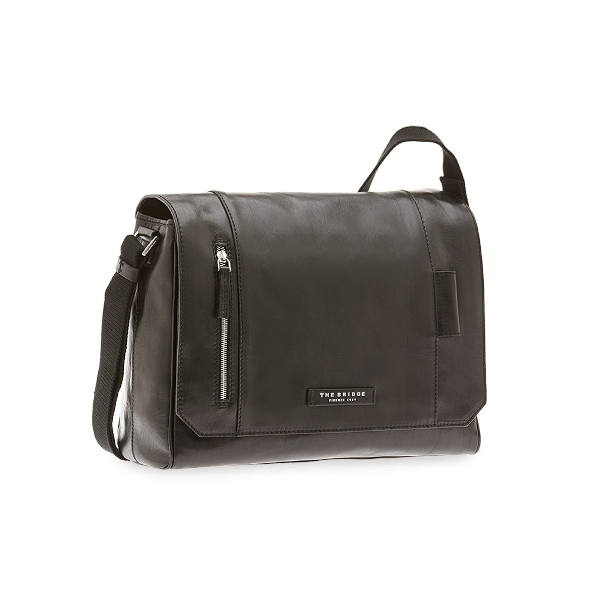 BORSA THE BRIDGE PASSPARTOUT UOMO MESSENGER 05420501 20 NERO