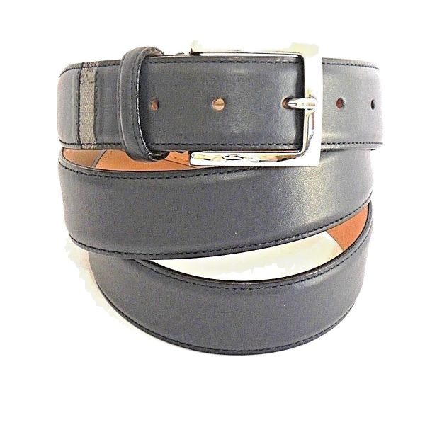 CINTURA ALVIERO MARTINI GEO DARK MAN BELT H35 BVA4335400 MIDNIGHT BLUE