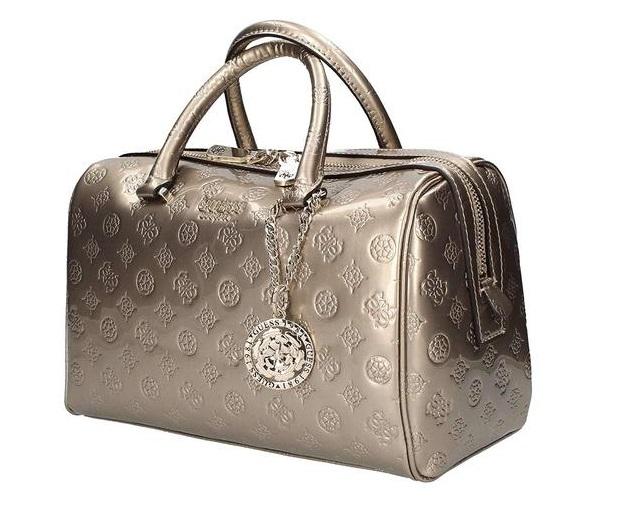 abbastanza economico design raffinato sconto più basso Borsa Guess peony shine bauletto SG739935 champagne