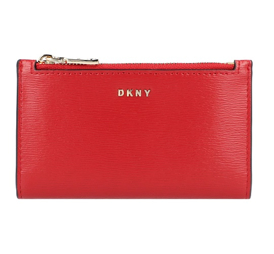 huge selection of e167a 43306 Portafoglio DKNY Donna Karan New York bryant piccolo R92Z3C08 8RD bright red