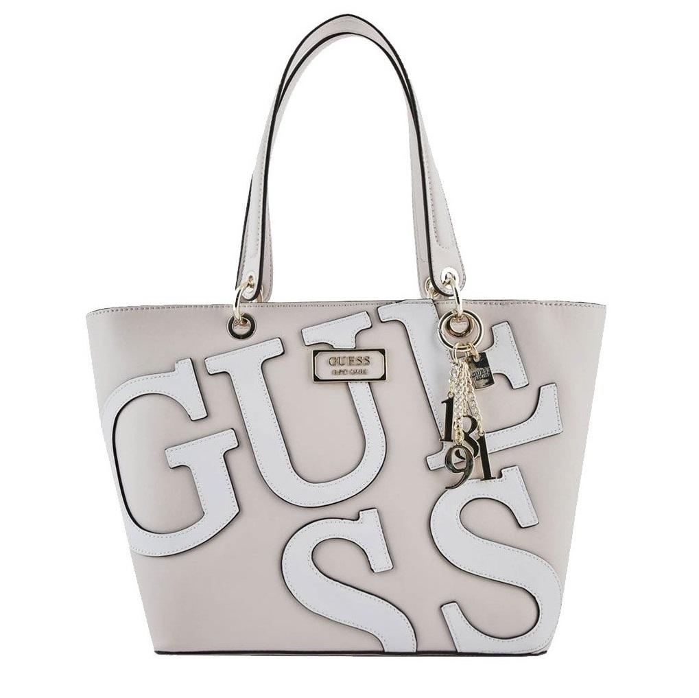 Borsa Guess kamryn shopper logo GL669123 black multi