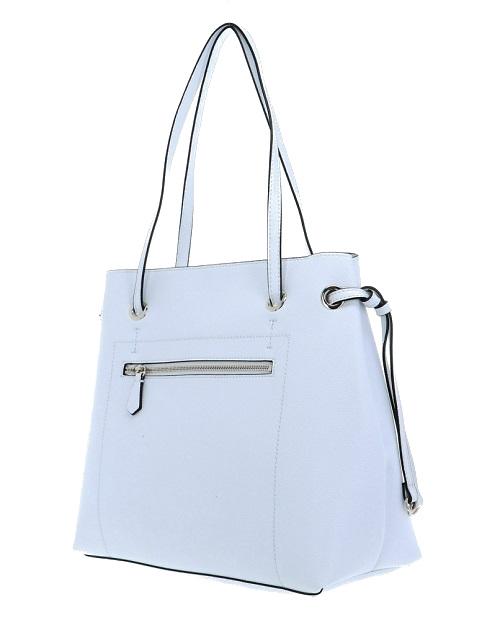 Borsa Guess digital shopper VG685324 white
